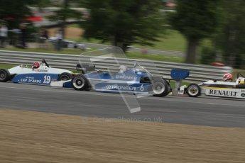 © 2012 Octane Photographic Ltd. HSCC Historic Super Prix - Brands Hatch - 30th June 2012. HSCC Classic Formula 3 - Qualifying. Bruno Lambert - Martini Mk.37. Digital Ref: 0377lw7d4304