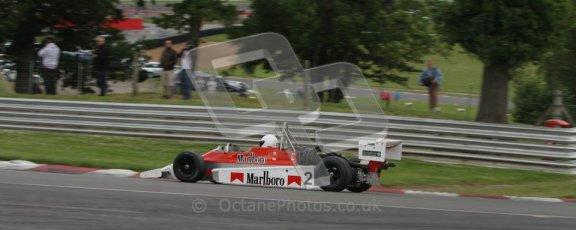 © 2012 Octane Photographic Ltd. HSCC Historic Super Prix - Brands Hatch - 30th June 2012. HSCC Classic Formula 3 - Qualifying. Benn Simms - March 803B. Digital Ref: 0377lw7d4320
