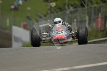 © 2012 Octane Photographic Ltd. HSCC Historic Super Prix - Brands Hatch - 30th June 2012. HSCC Derek Bell Trophy - Qualifying. Allan Rennie - Lotus 35. Digital Ref : 0376lw1d0047