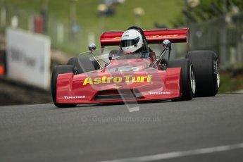© 2012 Octane Photographic Ltd. HSCC Historic Super Prix - Brands Hatch - 30th June 2012. HSCC Derek Bell Trophy - Qualifying. M.Bletsoe-Brown - Chevron B27. Digital Ref : 0376lw1d0082