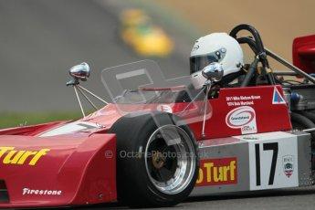 © 2012 Octane Photographic Ltd. HSCC Historic Super Prix - Brands Hatch - 30th June 2012. HSCC Derek Bell Trophy - Qualifying. M.Bletsoe-Brown - Chevron B27. Digital Ref : 0376lw1d0085