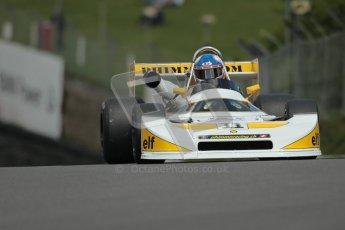 © 2012 Octane Photographic Ltd. HSCC Historic Super Prix - Brands Hatch - 30th June 2012. HSCC Derek Bell Trophy - Qualifying. Hans Peter - Ralt RT1. Digital Ref : 0376lw1d9748