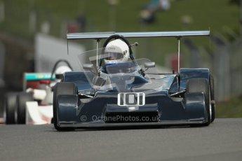 © 2012 Octane Photographic Ltd. HSCC Historic Super Prix - Brands Hatch - 30th June 2012. HSCC Derek Bell Trophy - Qualifying. Mark Charteris - Mallock Mk20/21. Digital Ref : 0376lw1d9763