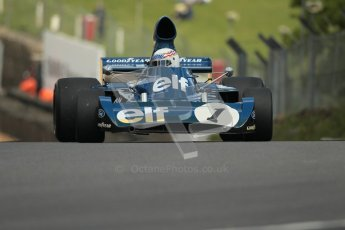 © 2012 Octane Photographic Ltd. HSCC Historic Super Prix - Brands Hatch - 30th June 2012. HSCC Derek Bell Trophy - Qualifying. John Delane - Tyrrell 006, Historic F1. Digital Ref : 0376lw1d9787