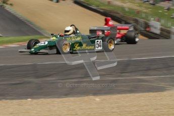 © 2012 Octane Photographic Ltd. HSCC Historic Super Prix - Brands Hatch - 30th June 2012. HSCC - Derek Bell Trophy - Qualifying. Stefano Rosina - Ralt RT3. Digital Ref: 0381lw7d4945