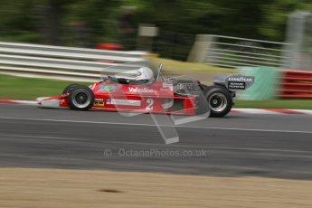 © 2012 Octane Photographic Ltd. HSCC Historic Super Prix - Brands Hatch - 30th June 2012. HSCC - Derek Bell Trophy - Qualifying. James Hagan - Ensign N177. Digital Ref: 0381lw7d5006