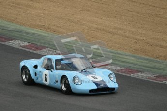 © 2012 Octane Photographic Ltd. HSCC Historic Super Prix - Brands Hatch - 30th June 2012. HSCC - Guards Trophy - Qualifying. Thompson/McClurg - Chevron B6. Digital Ref: 0379lw1d0435
