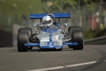 © 2012 Octane Photographic Ltd. HSCC Historic Super Prix - Brands Hatch - 30th June 2012. HSCC Grandstand Motor Sport Historic Formula 2 - Qualifying. Alain Lagache - March 712M. Digital Ref: 0377lw1d9055