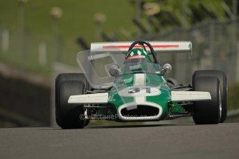 © 2012 Octane Photographic Ltd. HSCC Historic Super Prix - Brands Hatch - 30th June 2012. HSCC Grandstand Motor Sport Historic Formula 2 - Qualifying. Luciano Arnold - Brabham BT36. Digital Ref: 0377lw1d9072
