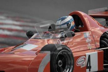 © 2012 Octane Photographic Ltd. HSCC Historic Super Prix - Brands Hatch - 30th June 2012. HSCC Grandstand Motor Sport Historic Formula 2 - Qualifying. Andrew Higgins - Chevron B25. Digital Ref: 0377lw1d9123