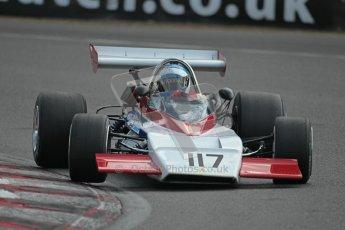 © 2012 Octane Photographic Ltd. HSCC Historic Super Prix - Brands Hatch - 30th June 2012. HSCC Grandstand Motor Sport Historic Formula 2 - Qualifying. Gerard Gamand - Pygmee MDB17. Digital Ref: 0377lw1d9155