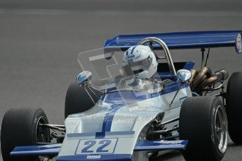 © 2012 Octane Photographic Ltd. HSCC Historic Super Prix - Brands Hatch - 30th June 2012. HSCC Grandstand Motor Sport Historic Formula 2 - Qualifying. Alain Lagache - March 712M.  Digital Ref: 0377lw1d9177