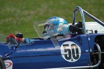 © 2012 Octane Photographic Ltd. HSCC Historic Super Prix - Brands Hatch - 30th June 2012. HSCC Grandstand Motor Sport Historic Formula 2 - Qualifying. Paul Bason - March 712. Digital Ref: 0377lw1d9310