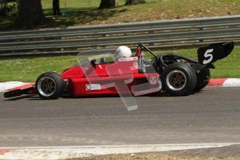 © 2012 Octane Photographic Ltd. HSCC Historic Super Prix - Brands Hatch - 30th June 2012. HSCC Historic Formula 2 - Qualifying. Terry Caton - March 73B. Digital Ref: 0381lw7d4682