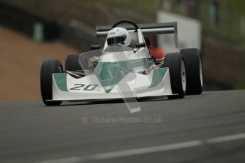 © 2012 Octane Photographic Ltd. HSCC Historic Super Prix - Brands Hatch - 1st July 2012. HSCC - Historic Formula Ford 2000 - Qualifying. David Clark - Dulon MP21. Digital Ref: 0385lw1d1255
