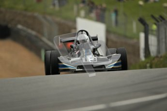 © 2012 Octane Photographic Ltd. HSCC Historic Super Prix - Brands Hatch - 1st July 2012. HSCC - Historic Formula Ford 2000 - Qualifying. Lawrence Denne - Royale RP27. Digital Ref: 0385lw1d1267