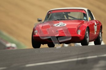 © 2012 Octane Photographic Ltd. HSCC Historic Super Prix - Brands Hatch - 1st July 2012. HSCC - Historic RoadSports - Qualifying. Jim Gathercole - Lotus Elan Plus 2. Digital Ref: 0387lw1d0539