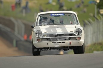 © 2012 Octane Photographic Ltd. HSCC Historic Super Prix - Brands Hatch - 1st July 2012. HSCC - Historic Touring Cars - Qualifying. Johnathan Townsend - Lotus Cortina. Digital Ref: 0384lw1d1056