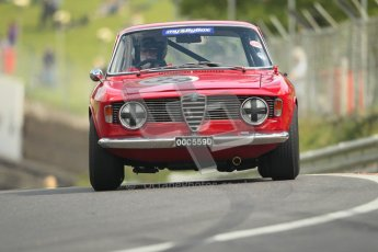 © 2012 Octane Photographic Ltd. HSCC Historic Super Prix - Brands Hatch - 1st July 2012. HSCC - Historic Touring Cars - Qualifying. Paul Hopkinson - Alfa Romeo Giulia Sprint GT. Digital Ref: 0384lw1d1062