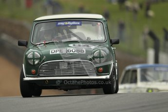 © 2012 Octane Photographic Ltd. HSCC Historic Super Prix - Brands Hatch - 1st July 2012. HSCC - Historic Touring Cars - Qualifying. Roger Phillips - Austin Mini Cooper S. Digital Ref: 0384lw1d1182