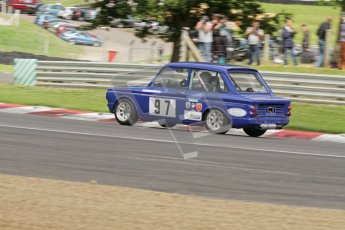 © 2012 Octane Photographic Ltd. HSCC Historic Super Prix - Brands Hatch - 1st July 2012. HSCC - Historic Touring Cars - Qualifying. David Heale - Hillman Imp. Digital Ref: 0384lw7d5323