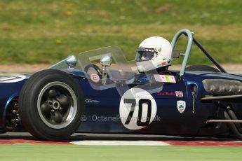 © 2012 Octane Photographic Ltd. HSCC Historic Super Prix - Brands Hatch - 30th June 2012. HSCC - Lurani Trophy - Qualifying. David Methley - Brabham BT6. Digital Ref: 0382lw1d8725