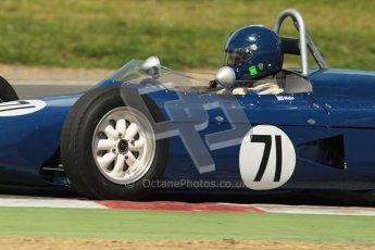 © 2012 Octane Photographic Ltd. HSCC Historic Super Prix - Brands Hatch - 30th June 2012. HSCC - Lurani Trophy - Qualifying. James Hicks - Caravelle II. Digital Ref: 0382lw1d8840
