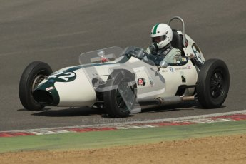 © 2012 Octane Photographic Ltd. HSCC Historic Super Prix - Brands Hatch - 30th June 2012. HSCC - Lurani Trophy - Qualifying. Justin Fleming - Elva 100. Digital Ref: 0382lw1d8874