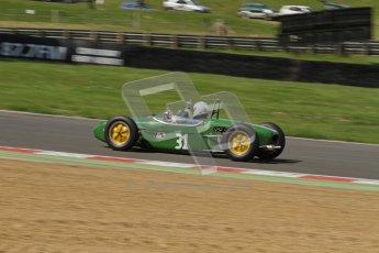 © 2012 Octane Photographic Ltd. HSCC Historic Super Prix - Brands Hatch - 30th June 2012. HSCC - Lurani Trophy - Qualifying. Robert Barrie - Lotus 18. Digital Ref: 0382lw7d4589