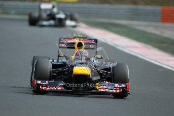 © 2012 Octane Photographic Ltd. Hungarian GP Hungaroring - Sunday 29th July 2012 - F1 Race. Red Bull RB8 - Mark Webber. Digital Ref :