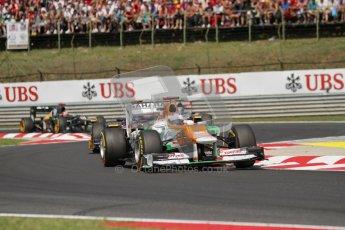 © 2012 Octane Photographic Ltd. Hungarian GP Hungaroring - Sunday 29th July 2012 - F1 Race. Force India VJM05 - Paul di Resta. Digital Ref :