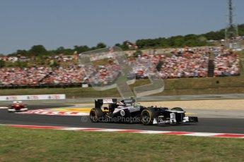 © 2012 Octane Photographic Ltd. Hungarian GP Hungaroring - Sunday 29th July 2012 - F1 Race. Williams FW34 - Bruno Senna. Digital Ref :