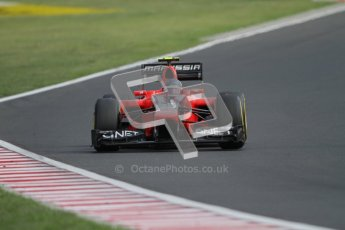 © 2012 Octane Photographic Ltd. Hungarian GP Hungaroring - Sunday 29th July 2012 - F1 Race. Marussia MR01 - Charles Pic. Digital Ref :