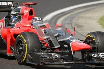 © 2012 Octane Photographic Ltd. Hungarian GP Hungaroring - Sunday 29th July 2012 - F1 Race. Marussia MR01 - Timo Glock. Digital Ref :