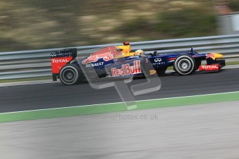 © 2012 Octane Photographic Ltd. Hungarian GP Hungaroring - Friday 27th July 2012 - F1 Practice 1. Red Bull RB8 - Sebastian Vettel. Digital Ref : 0425cb7d9706