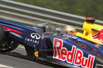 © 2012 Octane Photographic Ltd. Hungarian GP Hungaroring - Friday 27th July 2012 - F1 Practice 1. Red Bull RB8 - Sebastian Vettel. Digital Ref : 0425lw7d9866