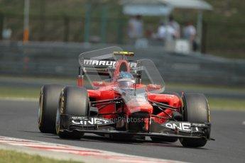 © 2012 Octane Photographic Ltd. Hungarian GP Hungaroring - Saturday 28th July 2012 - F1 Practice 3. Marussia MR01 - Charles Pic. Digital Ref : 0429lw1d6715