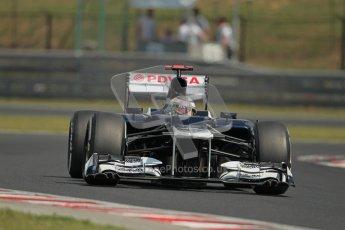 © 2012 Octane Photographic Ltd. Hungarian GP Hungaroring - Saturday 28th July 2012 - F1 Practice 3. Williams FW34 - Pastor Maldonado. Digital Ref : 0429lw1d6741