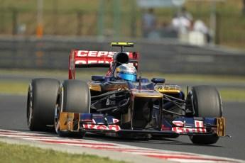 © 2012 Octane Photographic Ltd. Hungarian GP Hungaroring - Saturday 28th July 2012 - F1 Practice 3. Toro Rosso STR7 - Jean-Eric Vergne. Digital Ref : 0429lw1d6761