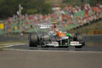 © 2012 Octane Photographic Ltd. Hungarian GP Hungaroring - Saturday 28th July 2012 - F1 Practice 3. Force India VJM05 - Nico Hulkenberg. Digital Ref : 0429lw1d6845
