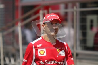 © 2012 Octane Photographic Ltd. Hungarian GP Hungaroring - Sunday 29th July 2012 - F1 Paddock. Ferrari. Digital Ref : 0437lw7d8443