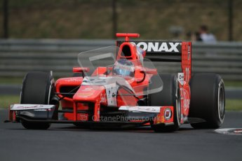 © 2012 Octane Photographic Ltd. Hungarian GP Hungaroring - Friday 27th July 2012 - GP2 Practice - Arden International - Simon Trummer. Digital Ref : 0426lw7d0581