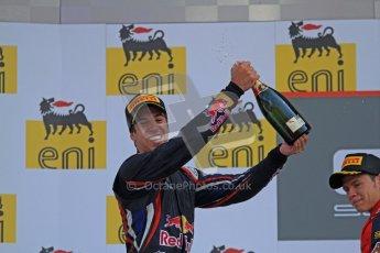 © 2012 Octane Photographic Ltd. Hungarian GP Hungaroring - Sunday 29th July 2012 - GP3 Race 2 - Carlin - Antonio Felix da Costa. Digital Ref :