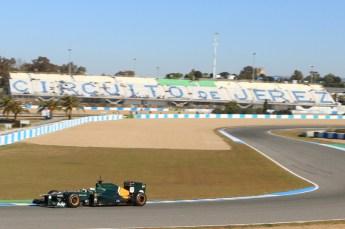 © 2012 Octane Photographic Ltd. Jerez Winter Test Day 1 - Tuesday 7th February 2012. Caterham CT01 - Heikki Kovalainen. Digital Ref : 0217lw7d3259