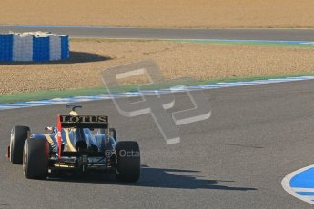 © 2012 Octane Photographic Ltd. Jerez Winter Test Day 1 - Tuesday 7th February 2012. Lotus E20 - Kimi Raikkonen. Digital Ref : 0217lw7d3474