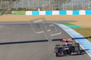 © 2012 Octane Photographic Ltd. Jerez Winter Test Day 1 - Tuesday 7th February 2012. Toro Rosso STR7 - Daniel Ricciardo. Digital Ref : 0217lw7d3520