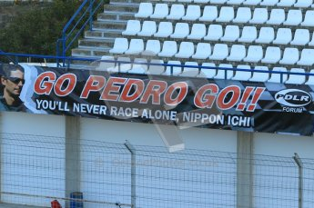 © 2012 Octane Photographic Ltd. Jerez Winter Test Day 2 - Wednesday 8th February 2012. Atmosphere. Digital Ref : 0218lw1d4870