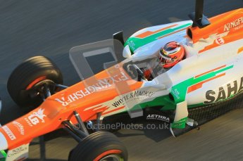 © 2012 Octane Photographic Ltd. Jerez Winter Test Day 2 - Wednesday 8th February 2012. Force India VJM05 - Jules Bianchi. Digital Ref : 0218lw1d4913