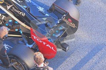 © 2012 Octane Photographic Ltd. Jerez Winter Test Day 2 - Wednesday 8th February 2012. Lotus E20 - Kimi Raikkonen. Digital Ref :  0218lw1d4972