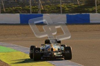 © 2012 Octane Photographic Ltd. Jerez Winter Test Day 2 - Wednesday 8th February 2012. Caterham CT01 - Heikki Kovalainen. Digital Ref :  0218lw1d5537